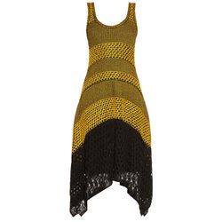 Proenza Schouler's yellow and black option is the ultimate day-to-night dress.