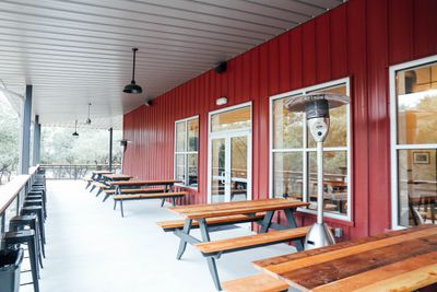 Family Brewing's patio