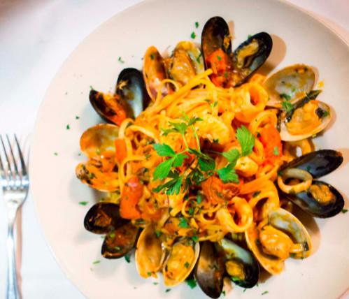 Pasta from Vito Restaurant