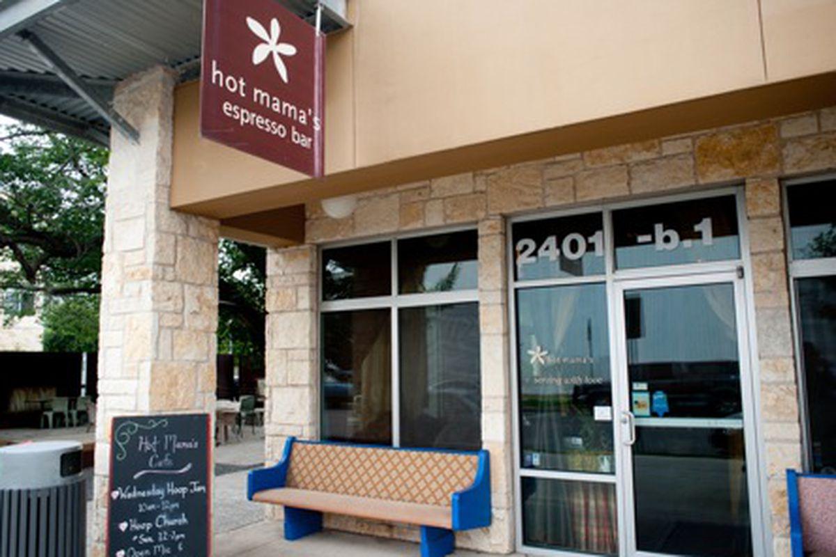 Hot Mama's Cafe.