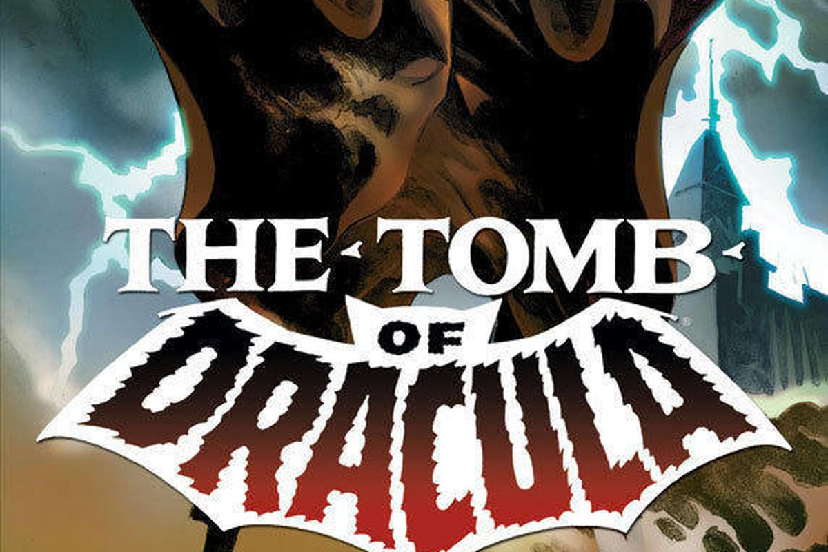 """In this comic book image released by Marvel Comics, a drawing from """"The Tomb of Dracula,"""" drawn by artist Gene Colan, is shown. Colan, whose career spanned seven decades and illustrated the adventures of characters like Dracula, Batman, Daredevil and the"""