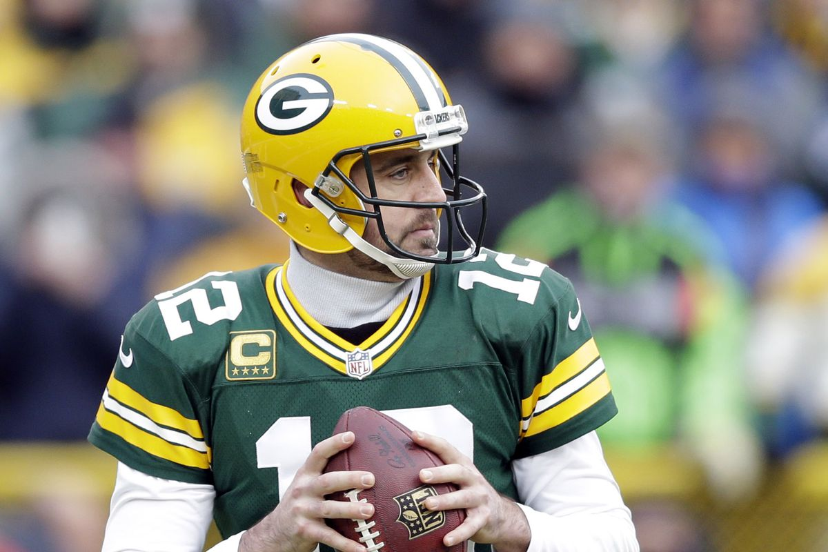 Aaron Rodgers was awesomeness personified on Sunday