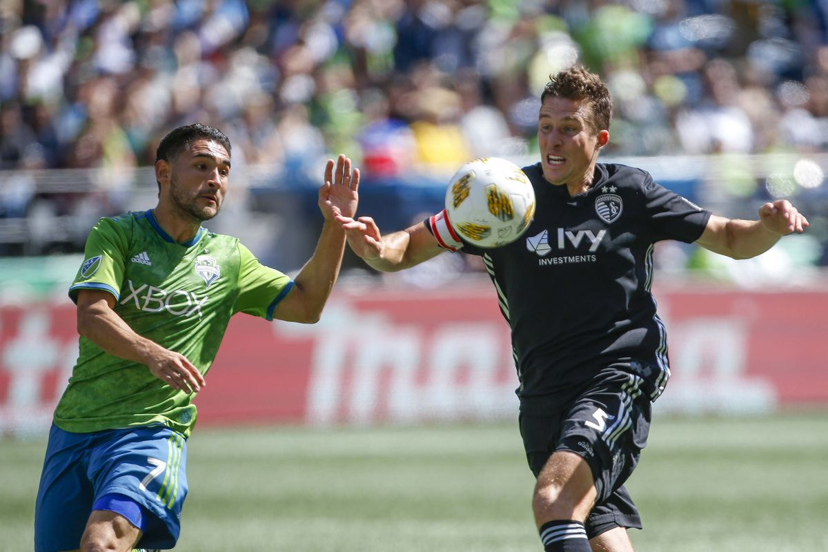 Sounders at Sporting KC, updates: Sporks lead 1-0