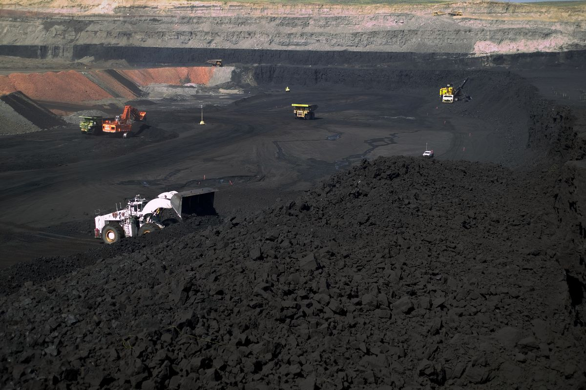Look at all this coal you're about to give away.