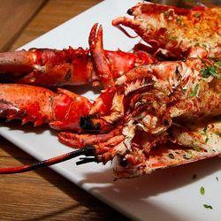 1 1/2 Pound Maine Lobster @ Fishbar Manhattan Beach, Mike Weekes Jr.