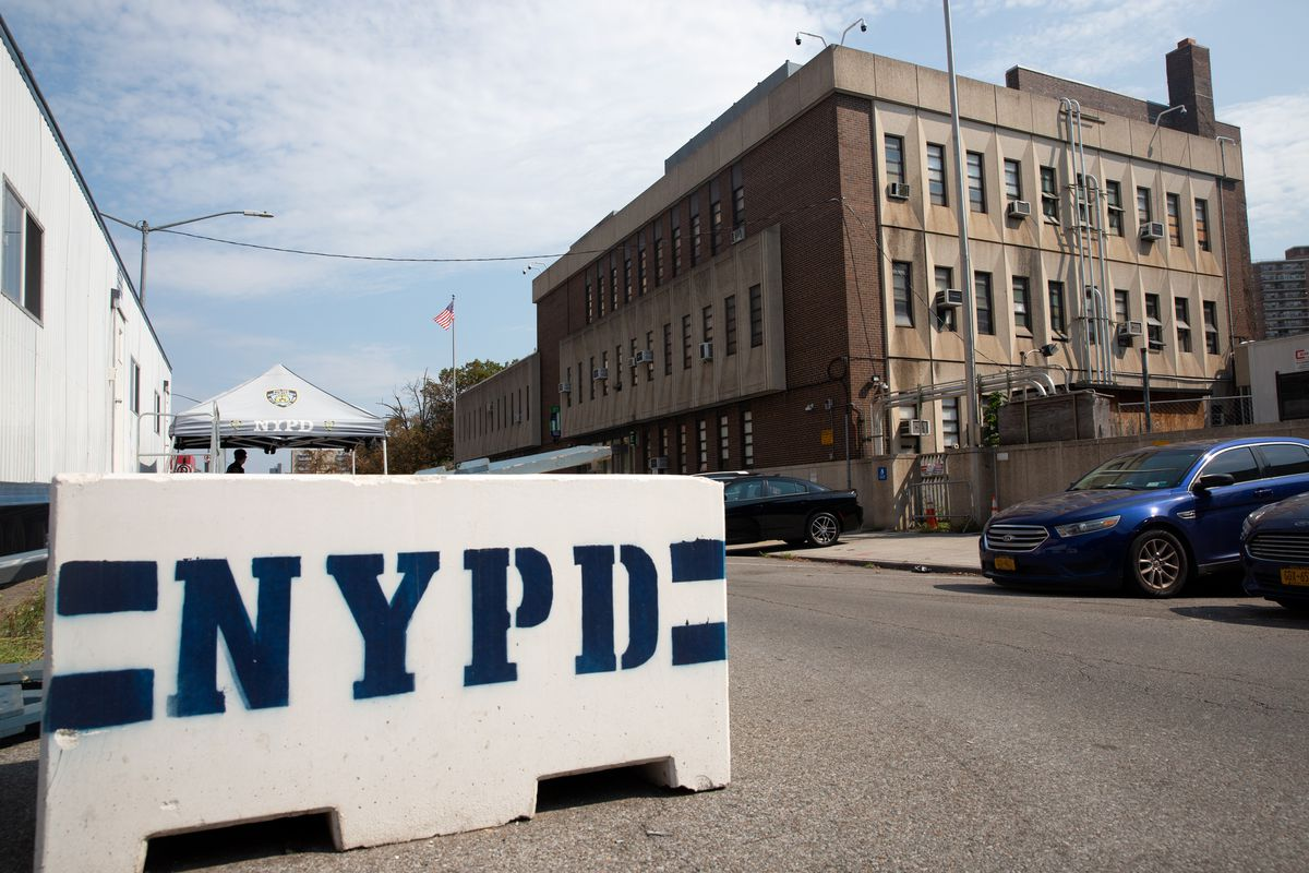 The 60th Precinct in Coney Island, Aug. 25, 2020. The NYPD has tried to block efforts to reform their DNA-collection practices.