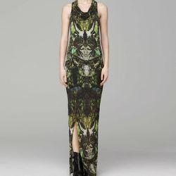"<b>Helmut Lang</b> Cicadae print chiffon dress, <a href="" http://www.helmutlang.com/printed-sleeveless-dress/C04HW601,default,pd.html?start=8&cgid=all-items"">$395</a>"