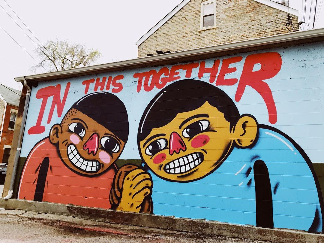 """Another of artist Joseph """"Sentrock"""" Perez's murals can be found near Hoyne Avenue and 18th Street near the National Museum of Mexican Art."""