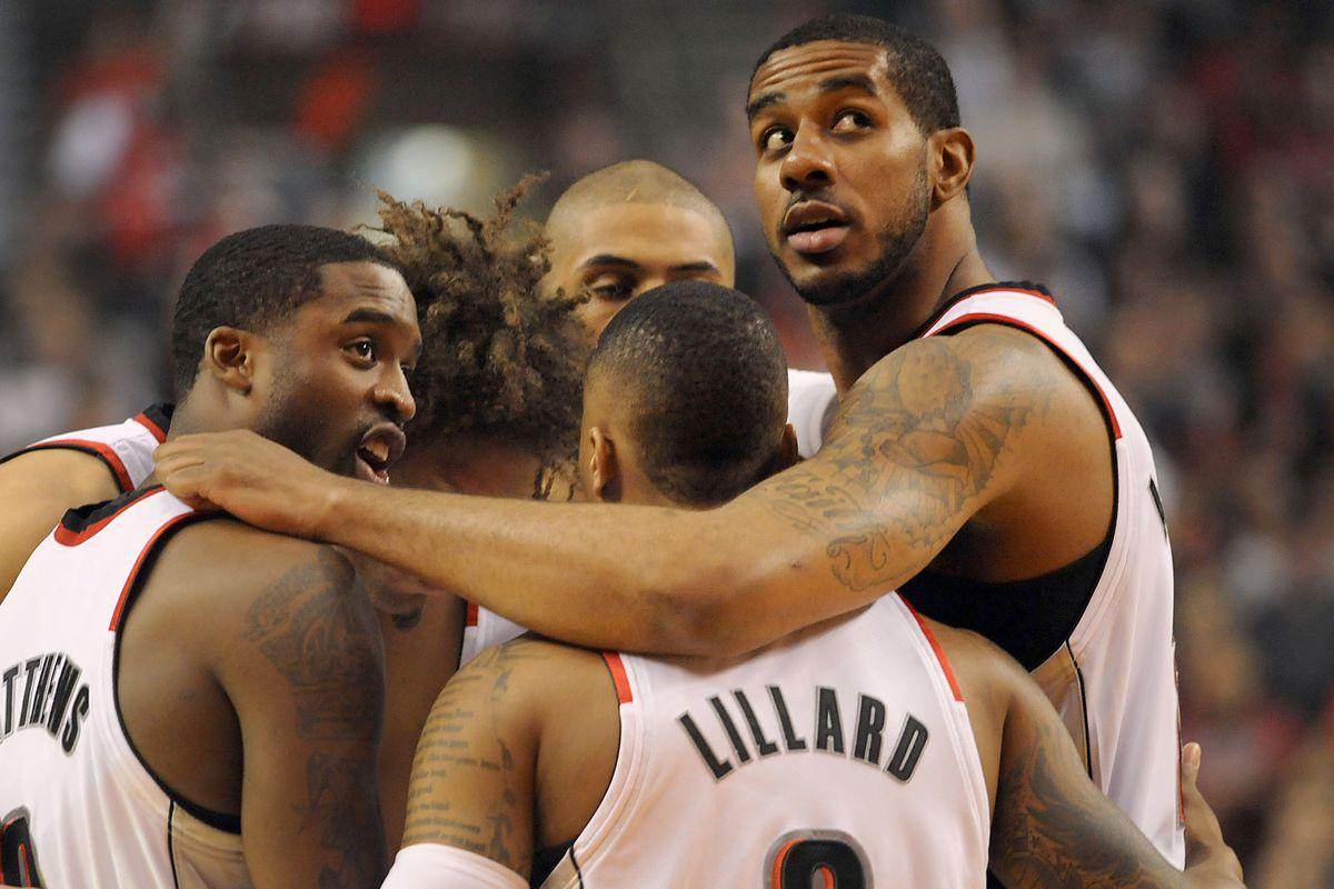 Houston Rockets v Portland Trailblazers - Game Three