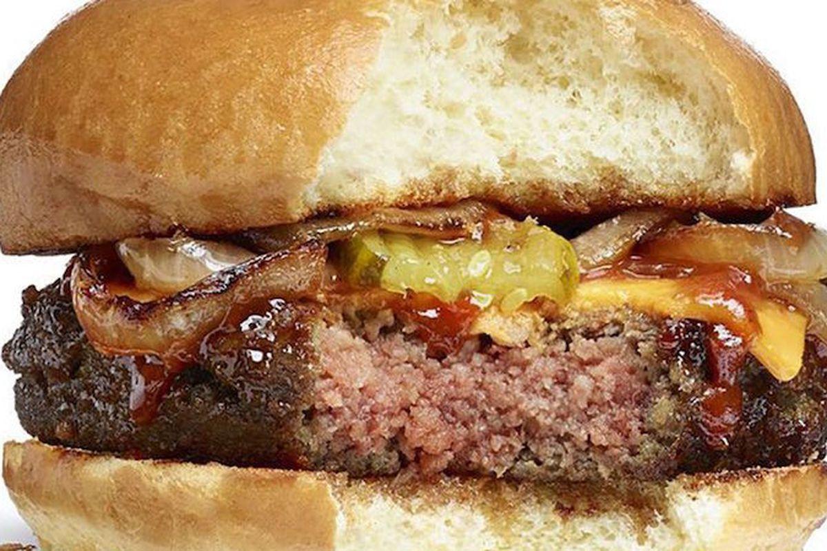 The bleeding veggie burger.