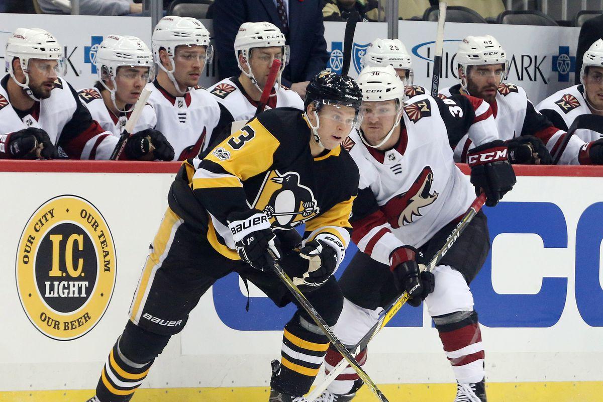 NHL: Arizona Coyotes at Pittsburgh Penguins