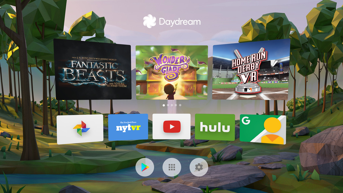 d56758d84ac When Google VP of virtual reality Clay Bavor talks about Daydream s  interface