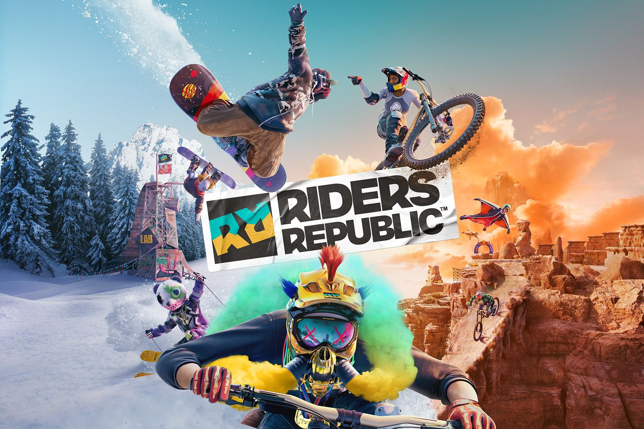 rr logo.0 - Ubisoft announce 'Riders Republic', the extreme sports MMO of my dreams