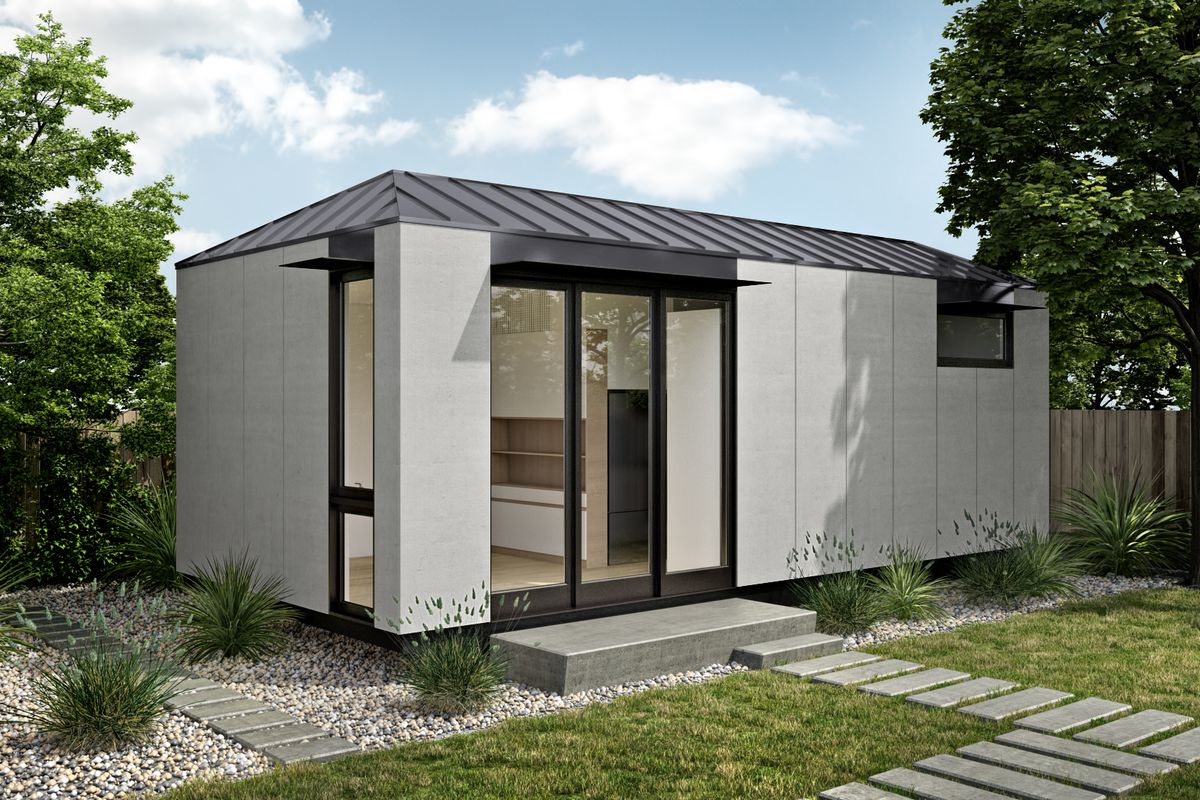 Prefab adu from livinghomes unveiled for under 100k curbed for Accessory dwelling unit austin