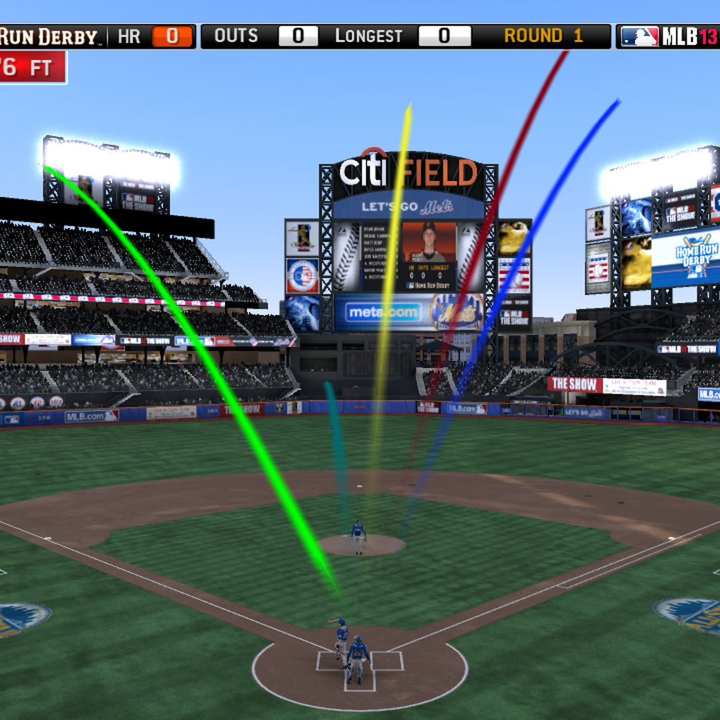 MLB 13 The Show's Home Run Derby mode playable across PS3