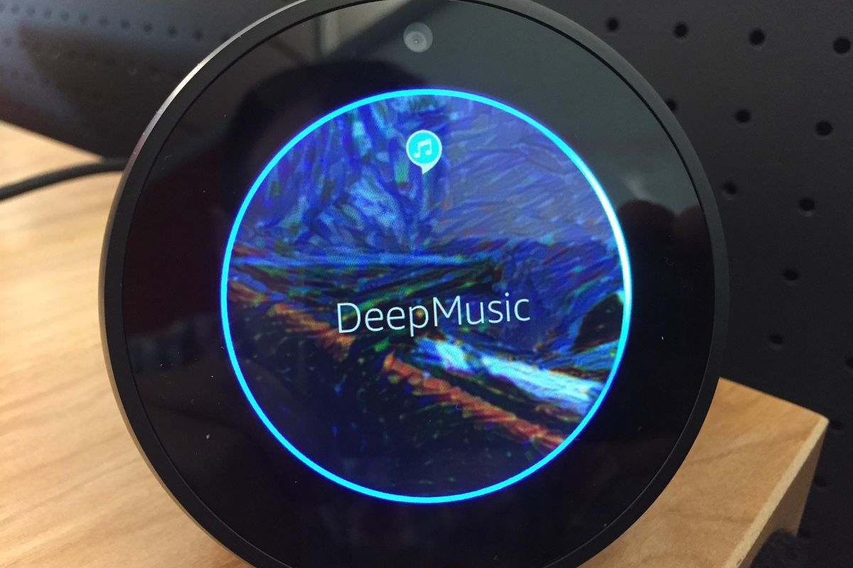 This new Alexa skill will play music generated by artificial