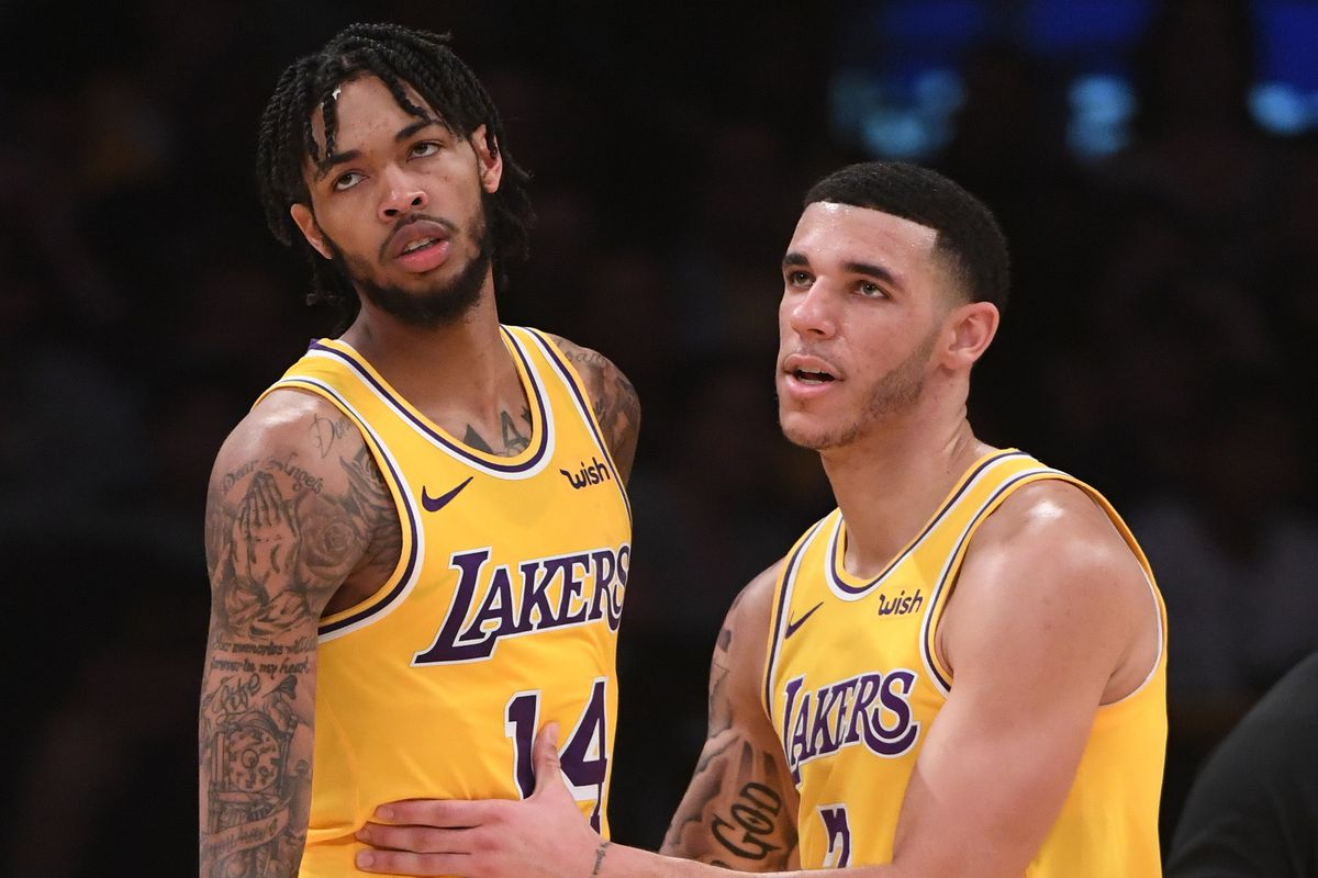 dc90c241a23 The Lakers are asking Brandon Ingram and Lonzo Ball to do more than ever in  the absence of LeBron James, and it's not going well so far