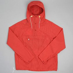 """<strong>Battenwear</strong> Packable Anorak in Red, <a href=""""http://www.hickorees.com/brand/battenwear/product/packable-anorak-red-ripstop-taslan-nylon"""">$265</a> at Hickoree's Floor Two"""