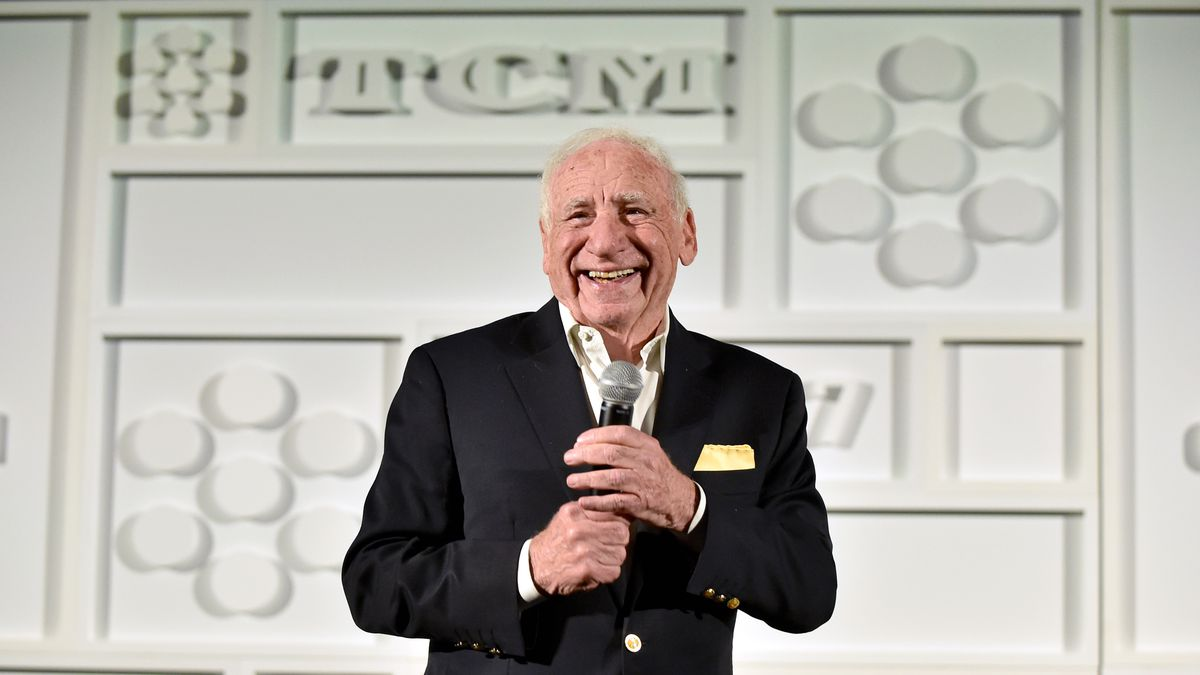 Director Mel Brooks speaks onstage at the screening of 'High Anxiety' during the 2017 TCM Classic Film Festival on April 7, 2017 in Los Angeles, California.