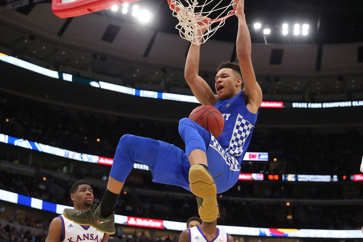 Kentucky Basketball Our First Look At The New Wildcats In: Kentucky Wildcats Basketball Vs East Tennessee State 2017