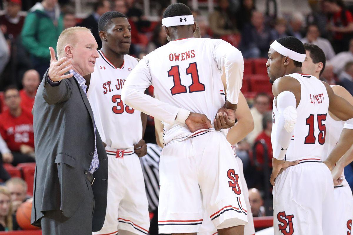 NCAA Basketball: Delaware State at St. John