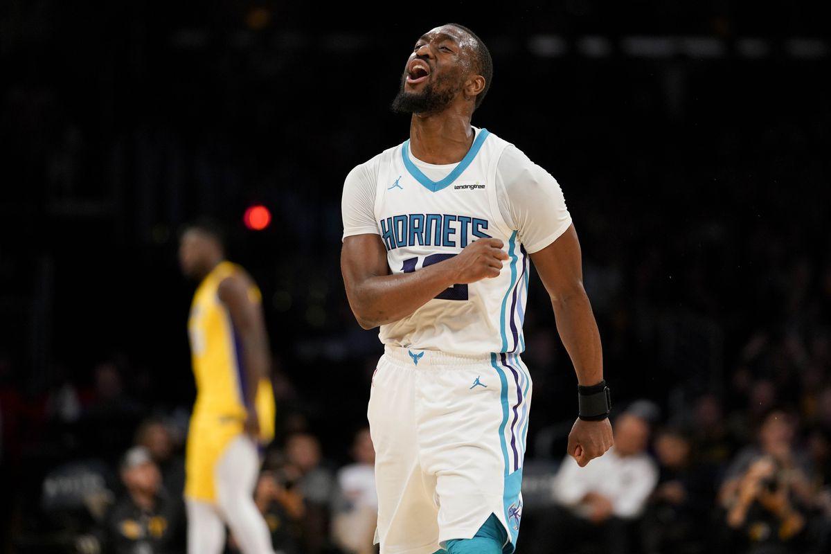 NBA: Charlotte Hornets at Los Angeles Lakers