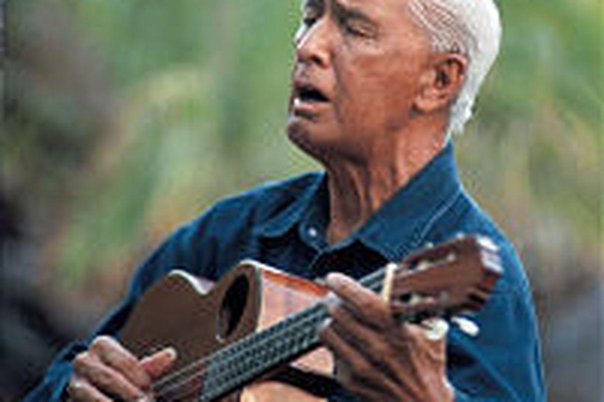Eddie Kamae is a folk-hero, singer, composer, musician and filmmaker.