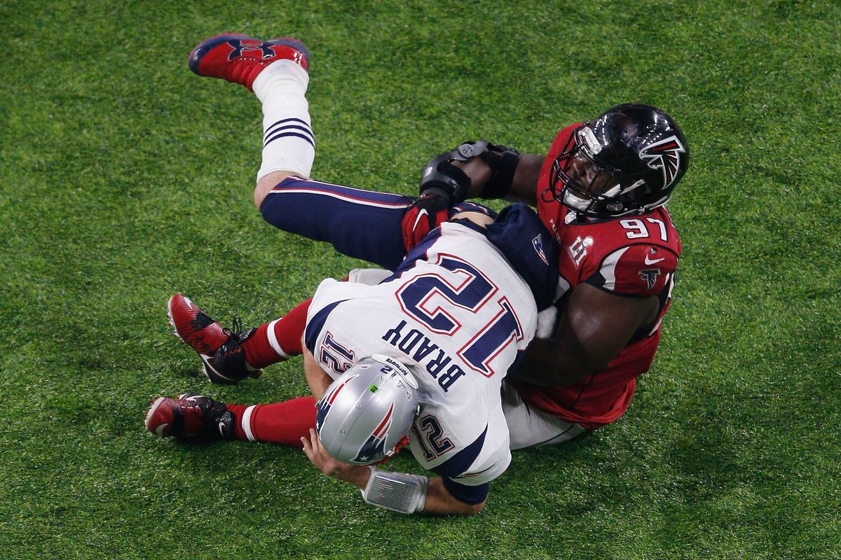 Grady Jarrett could have been the Super Bowl MVP if the Falcons