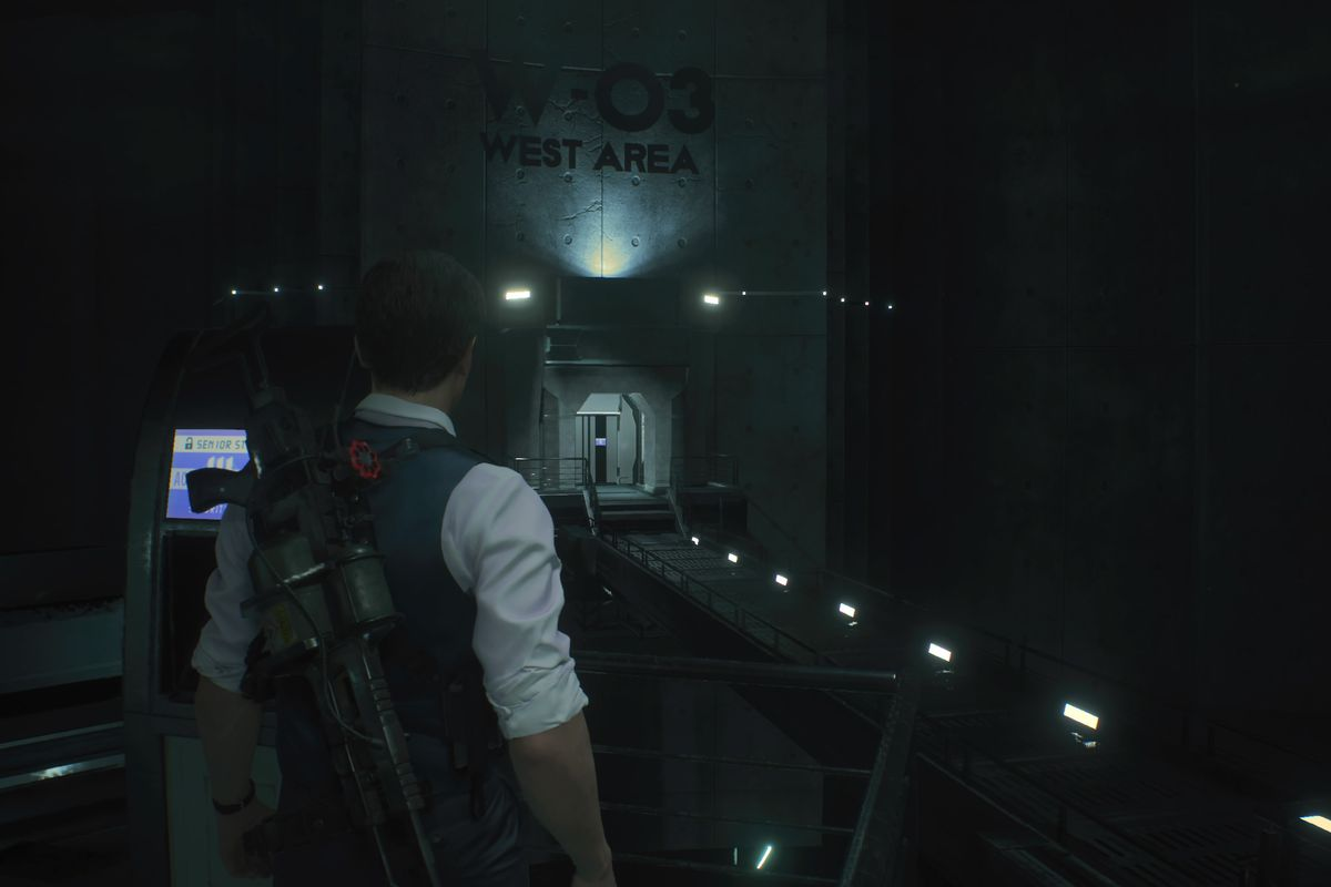 Re2 Remake Leon 2nd West Area G Phase 3 Boss Fight And