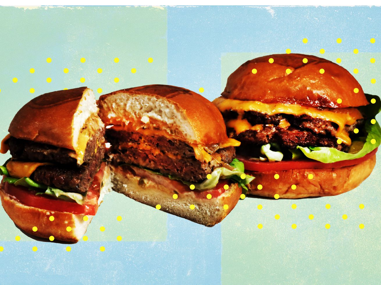 The Beyond Burger and Impossible Whopper look and taste a lot like real meat.