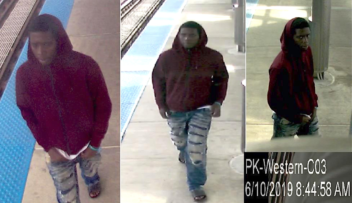 Male wanted for allegedly sexually abusing a girl on an L platform.