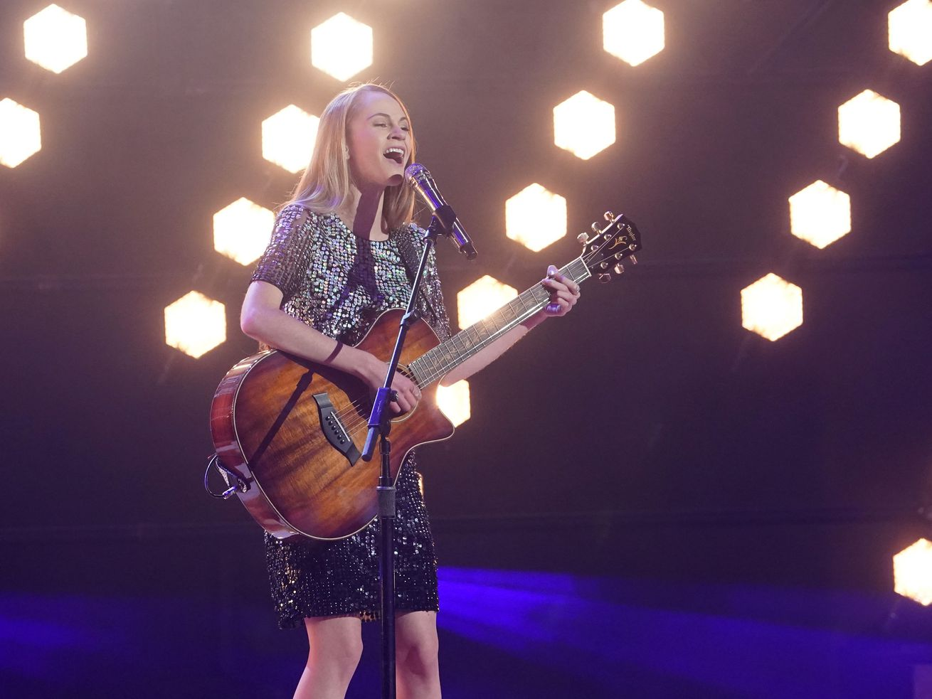 'AGT' just called this 15-year-old singer from Utah a 'young Taylor Swift.' Watch her performance here