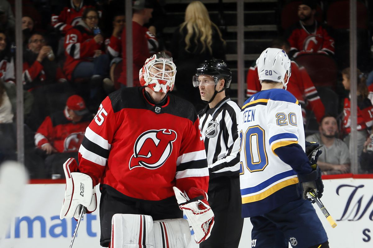 St. Louis Blues v New Jersey Devils