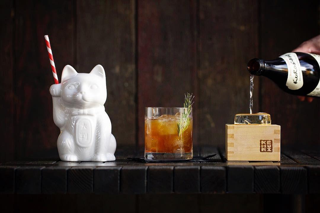 The cocktails at Kemuri Tatsu-ya
