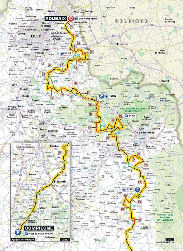 roubaix 2015 map