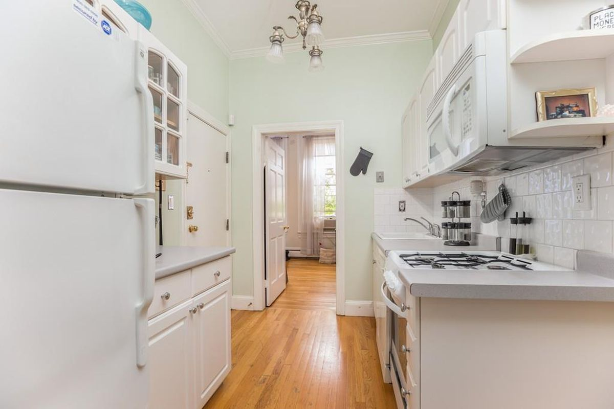 How Much For A South End One Bedroom With A Galley Kitchen