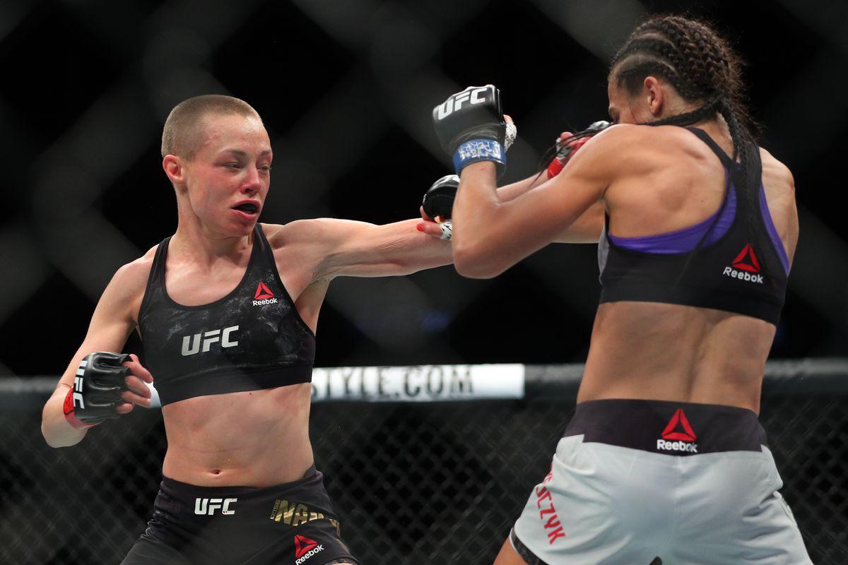 UFC 223: Namajunas v Jedrzejczyk