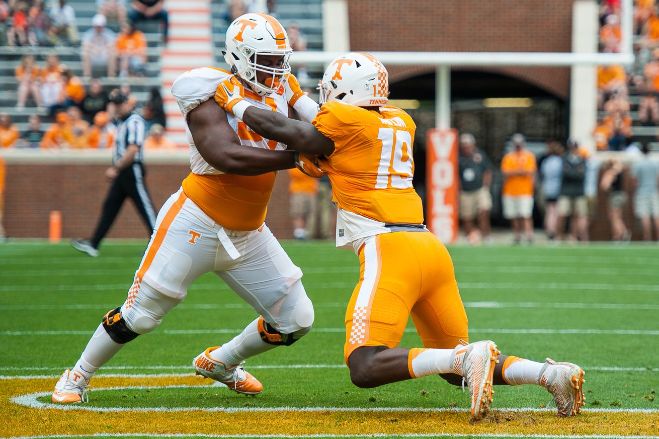 COLLEGE FOOTBALL: APR 22 Tennessee Spring Game
