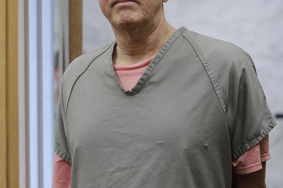 """Steve Powell appears in a Pierce County Superior Court hearing, Monday, April 23, 2012, in Tacoma, Wash. Powell's attorney said Monday that investigators frustrated by their unsuccessful quest to find Powell's missing daughter-in-law pursued an """"illegal"""""""