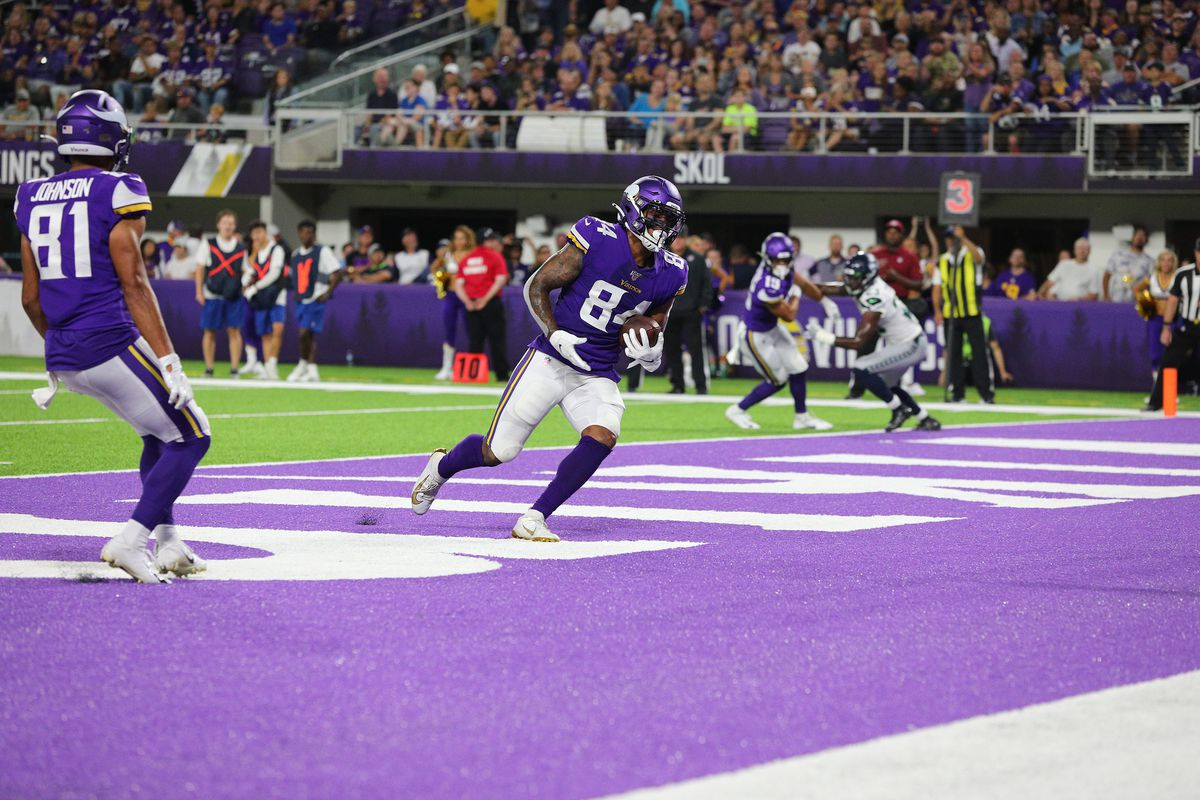 a1381c6a Minnesota Vikings 25, Seattle Seahawks 19: Vikings victorious in ...