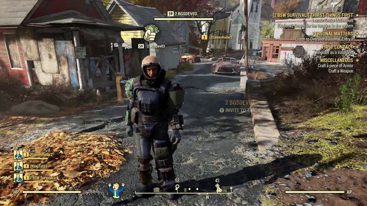 Fallout 76 hands-on: In a multiplayer RPG, who's in charge