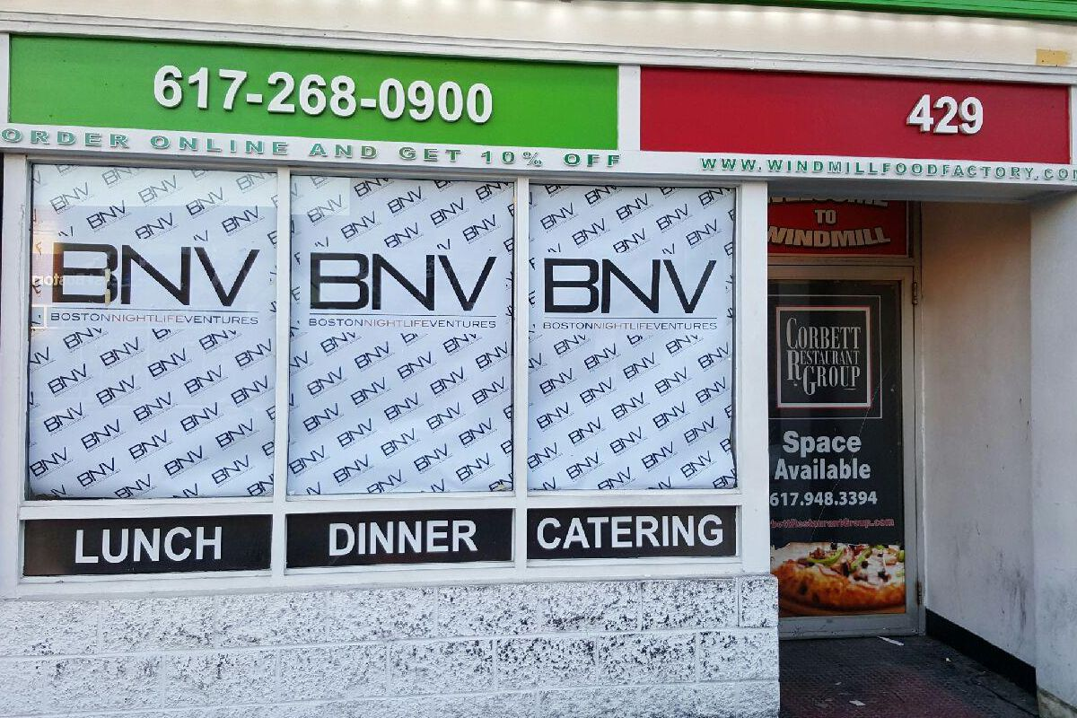 The future home of Certified Meatball Company in South Boston