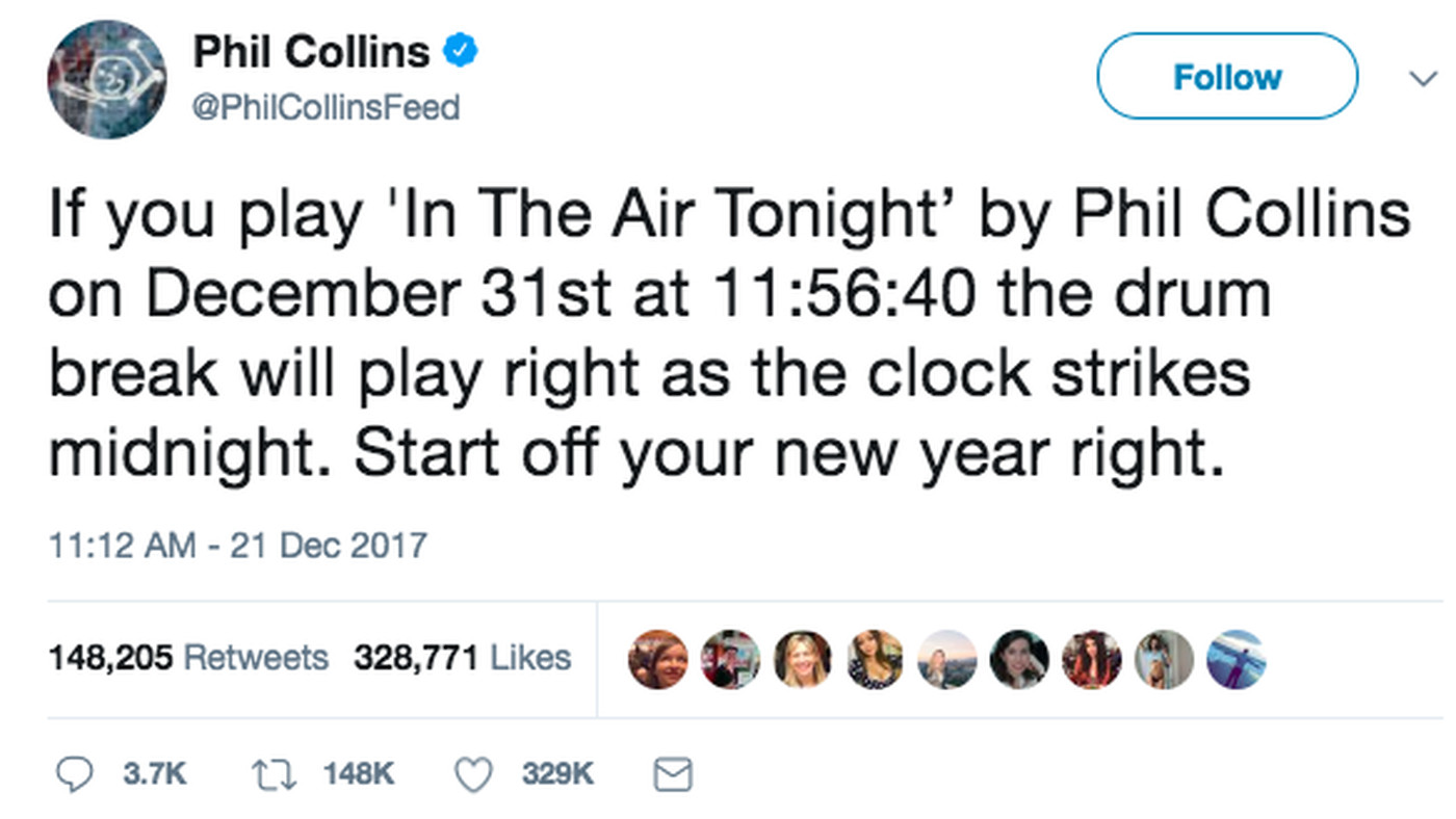 """If you play this song on New Year's Eve"""": 2017's last great"""