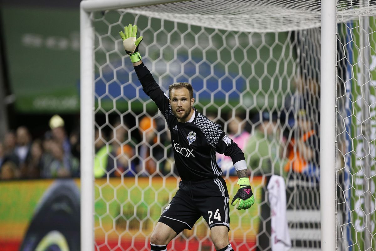 This picture is relevant; doesn't Frei look silly?