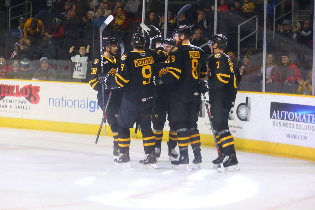 f10b165b3 Providence Bruins Weekend Recap 1 18 - 1 21 - Stanley Cup of Chowder