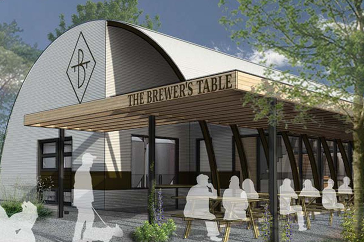 Rendering of The Brewer's Table