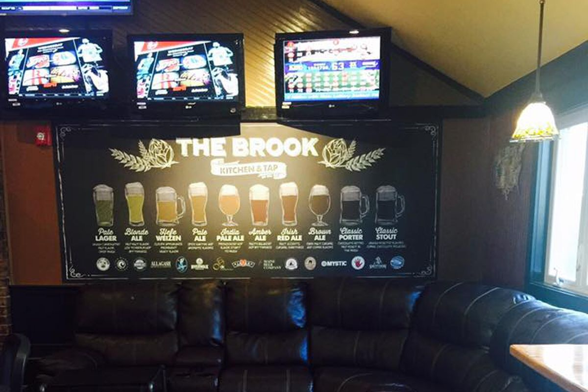 The brook kitchen and tap now open in holbrook eater boston for The brook kitchen and tap