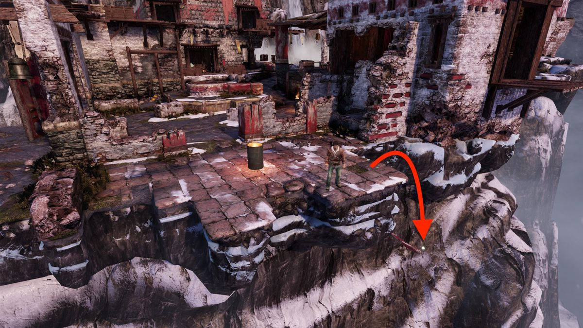 Uncharted 2: Among Thieves 'The Monastery' treasure locations guide