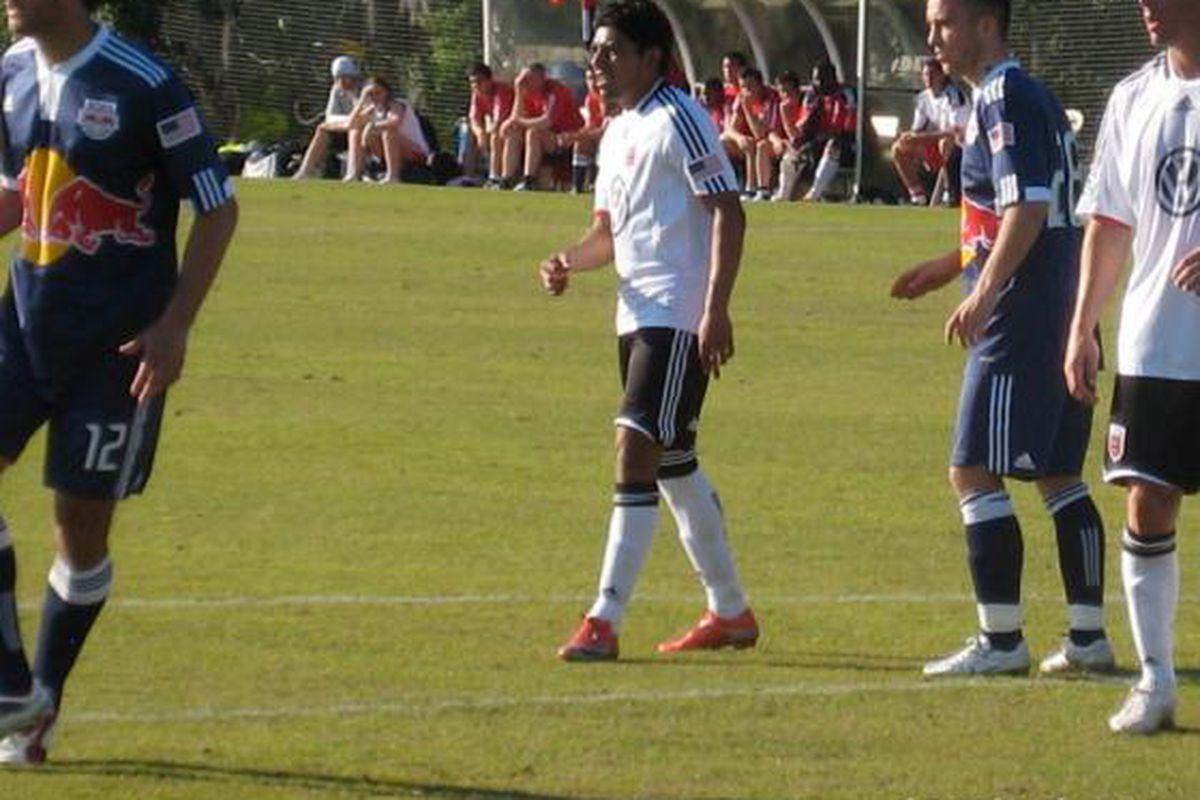 "Cristian Castillo made his preseason debut against NY (via <a href=""http://www.dcunited.com"">dcunited.com</a>"
