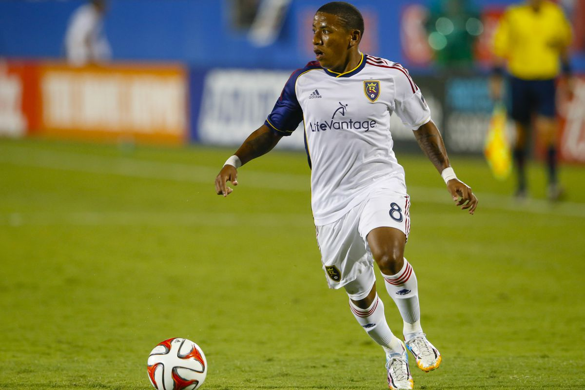 RSL forward Joao Plata has been in good form for the Claret and Cobalt in 2014